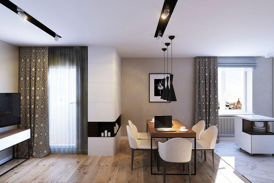 Дизайн проект квартиры от студии Геометриум