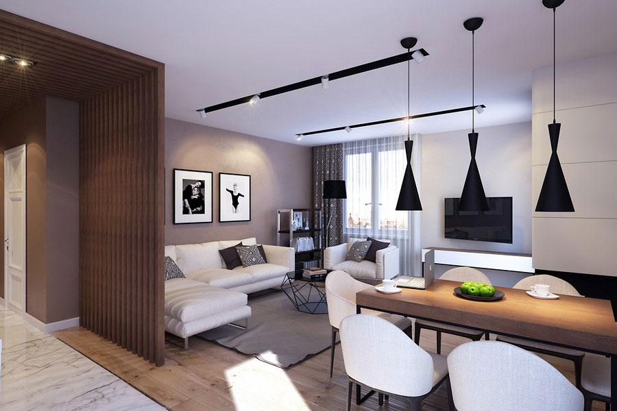 Дизайн проект современной квартиры в новостройке
