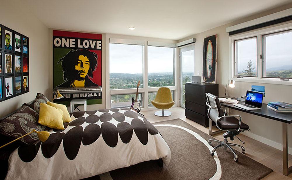 Современная комната для подростка от профессионалов.